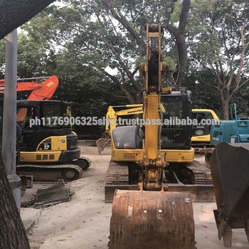 Good condition KOMATSU PC55MR-2 used excavator mini excavator rubber tracks used hot sell