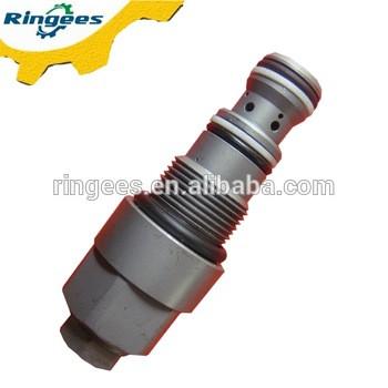 Unloading Valve pc200-6 pc200-7 pc200-8 pc220, excavator hydraulic valves used for komatsu pressure relief valve 6D95 engine