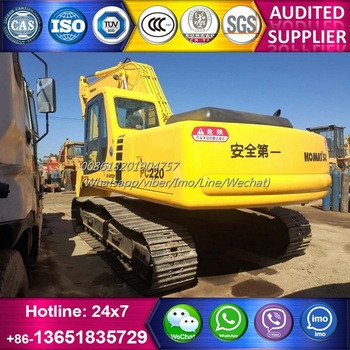 Good condition 20 tons Japan used PC220-6 excavator for Philippines