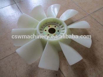 4D102 engine fan blade fit Komatsu PC120-6 excavator