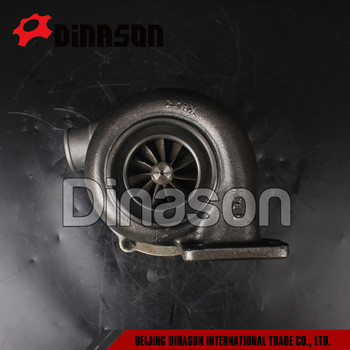 TO4E08 turbocharger for Excavator S6D125 engine 6222-81-8210 6151-81-8500 466704-0213