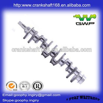 loader/excavator engine parts, 6D110 crankshaft 6138-31-1010/6138-31-1110