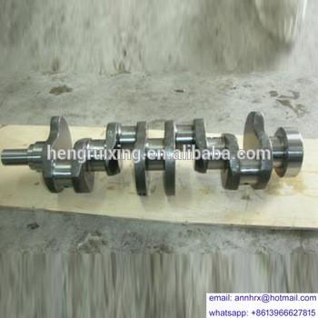 For KOMATSU 6D110 engines spare parts crankshaft cast iron/forged 6138-31-1010