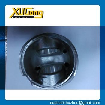 6D107 OEM hydraulic excavator parts piston for engine PC200-8