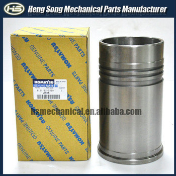 komatsu pc400-6 6D125 tools for cummins engine 6151-31-2150 cylinder liner genuine quality