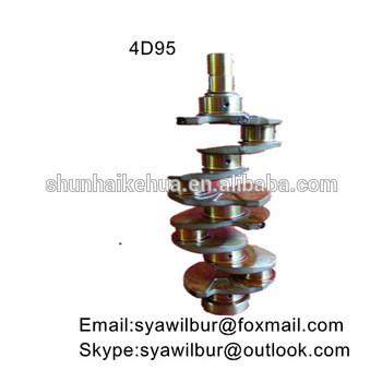 New 4D95E 4D95S Casting Crankshaft for KOMATSU Diesel engine