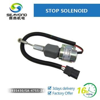 Diesel Engine Flameout Magnetic Solenoid 3935430 SA-4755