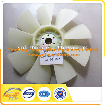 PC200-5 excavator fan cooling, 600-625-6620 PC200-5 engine cooling fan blade