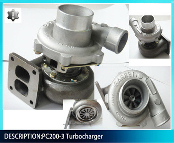 6137-82-8200 pc200-3 turbocharger excavator engine parts
