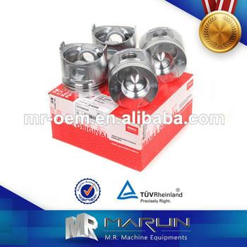 MAHLE PC120-5 S4D95 Engine Piston & Piston for Komatsu Parts 1K755261000