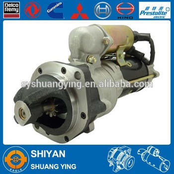 Starter for Komatsu engines 6008133320 6008133321