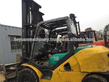 4 Ton used Diesel forklift