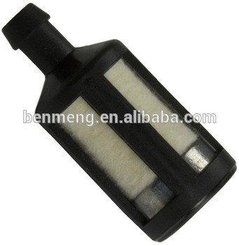 Fuel filter For larger 30cc engines. Replaces ZAMA ZF-5. 23/32OD x 1-5/8 L. Fits 1/4 I.D. Fuel Line.