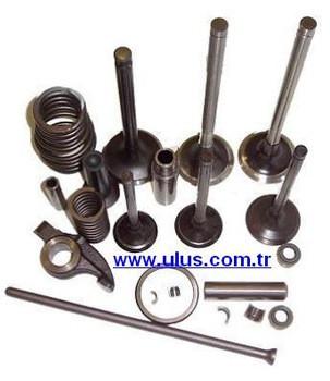 Diesel engine; valve, guide, seat, tappet