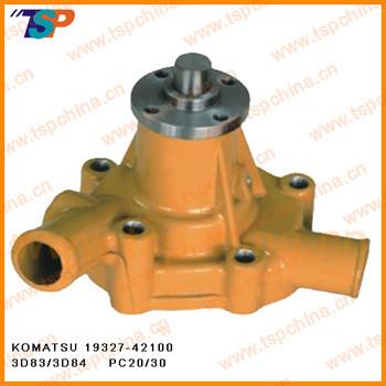 KOMATSU water pump for Construction machinery part 19327-42100 3D83/3D84 PC20/30