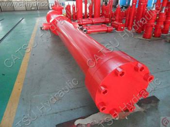 single acting engine hoist hydraulic cylinder