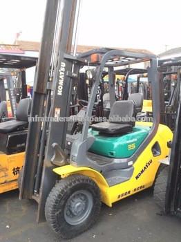 used 2.5 ton/2.5ton/2.5t Komatsu forklift truck FD25,Used forklift 2.5 ton, FD25-14 / 2.5 Ton forklift price
