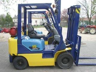 Komatsu Fg15lt-17 Rfurbished Forklift