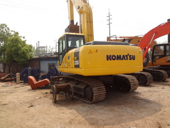 Used komatsu pc200-7 100% Japan original excavator type crawler for sale