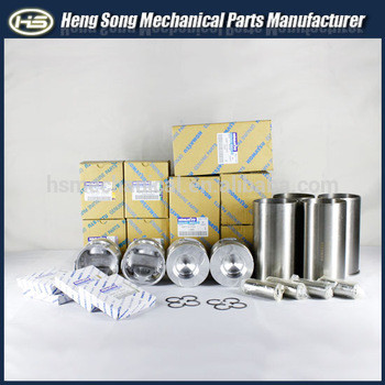 TOP quality Excavator parts for engine 6D95-6/4D95 cylinder liner kits piston 6209-31-2810 liner set