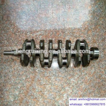 For KOMATSU 6D107 engines spare parts crankshaft cast iron/forged steel 6754-01-1310