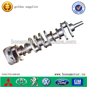 auto parts for Komatsu engine 6D108 6222-31-1101casting crankshaft