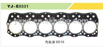 6D16 Excavator Gasket Head hydraulic Engine assembly OEM