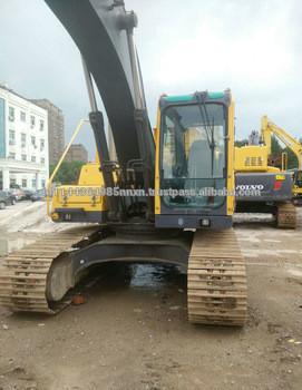 VOLVO EC210BLC crawler 2013 year used kobelco excavator engine in shanghai for sale