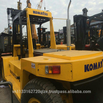 used 20ton 20t Komats FD200 diesel forklift for sale in good condition