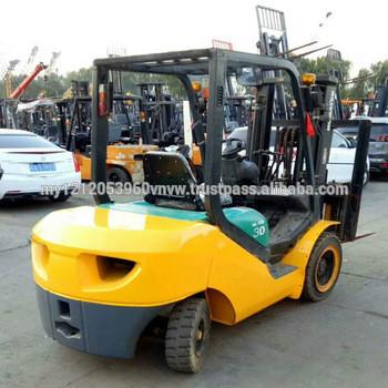 komatsu forklift FD30T-16 3 Ton Large Stock Komatsu Used Side Shift Forklift