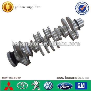 auto parts for Komatsu engine 6D107 6754-01-1310 casting crankshaft