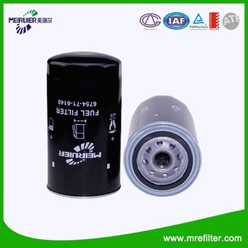 China Factory OEM Quality Auto Oil Filter 6754-71-6140 For Truck Engine