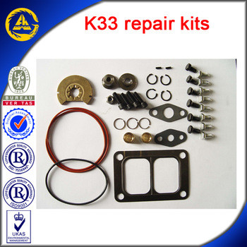 Engine parts K33 turbo repair kits
