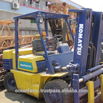 Used Komatsu FD50 forklift for sale, Komatsu 5 ton forklift komasu FD50AT-8
