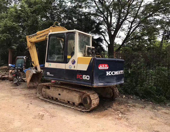 pc60 Komat'su original japan PC60 crawler japanese Used Excavator