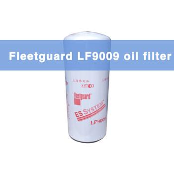 Fleetguard 3401544 lube oil filters LF9009 for Engine parts heavy equipment Komatsu kobelco excavator/Hyundai