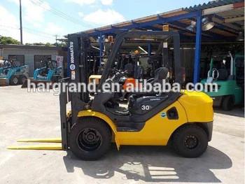 Used Komatu 2.5T forklift, used diesel forklift komatu/Toyota forklift for sale
