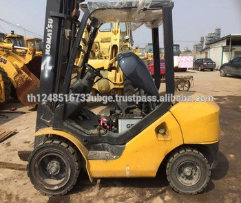 Used Komatsu forklift komatsu FD30 with cheap price and high quality in shanghai