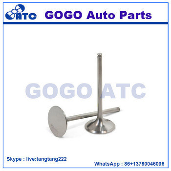 Engine Intake&Exhaust valve for Komatsu OEM 6610-41-4110 6610-41-4210