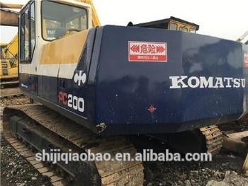 komatsu pc200-5 used excavator for sale