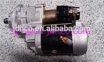 JDHCO 100% New PC100 S4D102 S6D102 Engine Starter 600-863-4410 600863220 High Quality 24V 4.5KW Nikko Starter Motor 0240003060