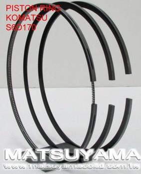 6240-31-2030, Piston Ring for Komatsu S6D170E-3/SA6D170E-3