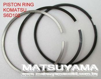 6738-31-2030, Piston Ring for Komatsu SA6D102E/SAA6D102E
