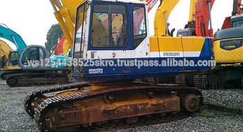 nice work condition komatsu pc200-5 excavator for sale