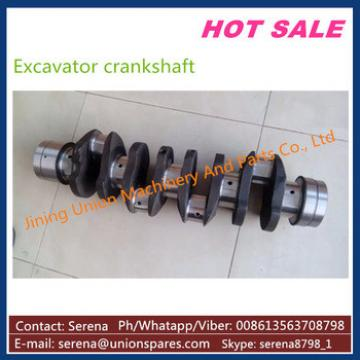 casting diesel engine excavator crankshaft for Komatsu PC300-6 S6D108 6D108 6222-31-1101