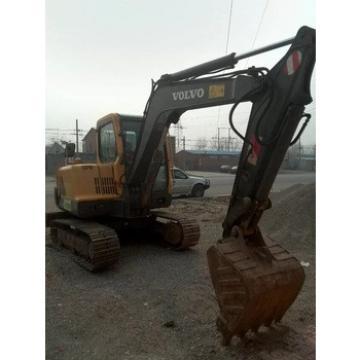 used midi escavator volvo 55 mini excavator for sale,also Komatsu Mini PC56, PC60 excavators good engine