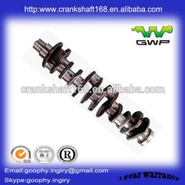 excavator engine parts casting crankshaft 6D107