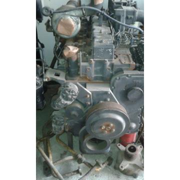 Used original PC200-7 excavator S6D102 engine assembly