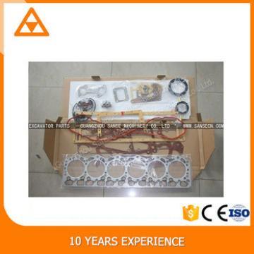 Excellent quality low price Excavator engine 6D110 Gasket Kit 6138-K1-9901 6138-K2-9901