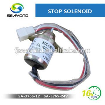 Seayond Excavator Parts Engine Flame Out solenoid 1503ES-12S5SUC5S